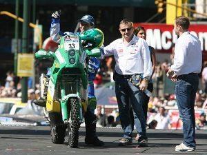 Largada do Rally Dakar 2011 reúne um milhão de espectadores