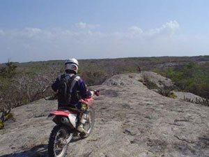 Levantamento da prova de motos - Cerapió 2010