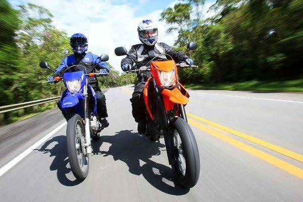 Linha Yamaha XTZ 250 2009