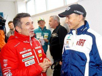 Lorenzo, Hayden e Rossi reagem à conquista da primeira linha no Estoril