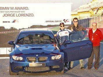 Foto: Lorenzo recebe Prémio BMW M em Valência