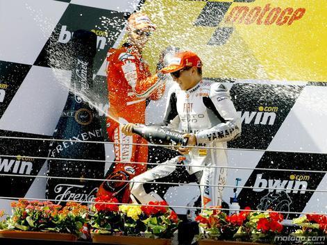 Lorenzo reduz a diferença para Rossi após vitória no Estoril