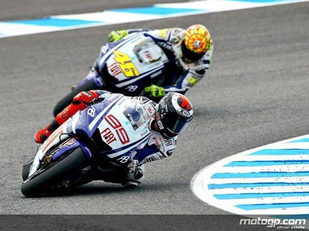 Lorenzo roda para a primeira vitória de 2010 em Jerez