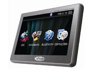 Magneti Marelli Apresenta Novo Navegador Portátil via GPS com Tela Touch Screen de Cinco Polegadas