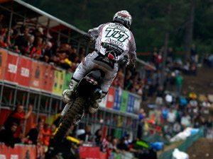 Foto: Divulgação Honda/VIPCOMM - Evgeny Bobryshev, piloto da Honda no Mundial de Motocross