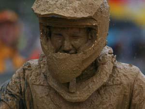 Foto: Lama na cara, faz parte do off-road - Bitenca