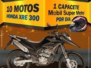 Mobil realiza promoção para os motociclistas de todo país