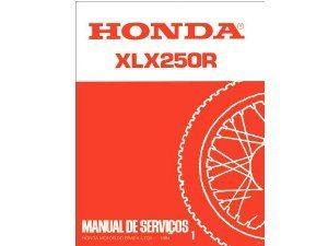 Foto: Manual de manutenção Honda  - Bitenca