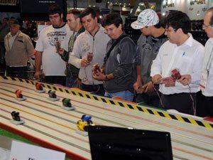 Foto: Stand da Honda no Salão Duas Rodas 2009