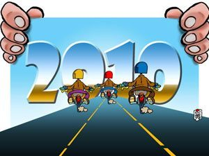 Motonline quer compartilhar com você a melhor receita para ser feliz em 2010: