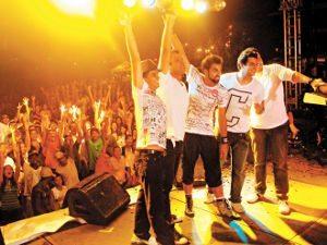 Foto: A banda Faixa Etária volta a Ponta Negra (foto) no dia 5 de fevereiro