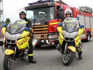 Motos para combater incêndios leves