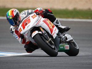 Foto: Alex De Angelis, piloto da equipe San Carlo Honda Gresini RC212V na MotoGP