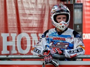Foto: Davide Guarneri, piloto da Honda no Mundial de Motocross