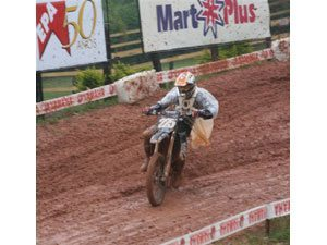 Foto: Com o segundo lugar na prova, Rômulo conquistou o título na SX2