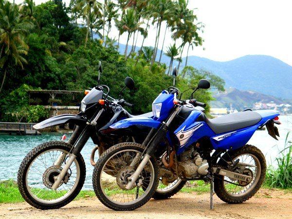 O Xis Da Questao Yamaha Xtz 250 Lander Ou Honda Xr 250 Tornado