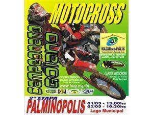 Palminópolis(GO) recebe a 2ª etapa do Goiano de Motocross