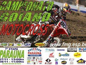 Paraúna faz a festa da 7ª etapa do Goiano de Motocross