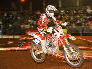 Foto: Hector Assunção, piloto da categoria Júnior