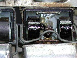 Foto: carburador sujo - Bitenca