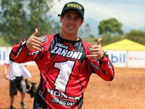 Foto: Swian Zanoni, piloto da categoria MX2