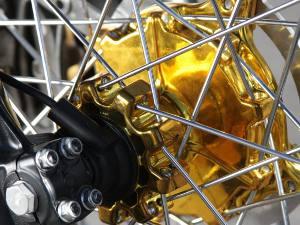 Foto: Detalhes dourados valorizam o produto - Divulgação