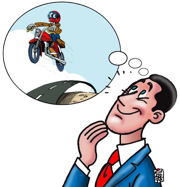 Por onde anda Vital e sua moto?