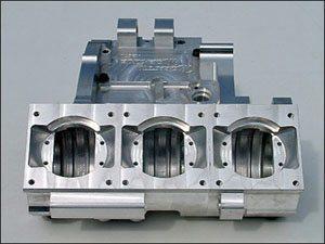 Foto: Carcaças usinadas em CNC - Bitenca