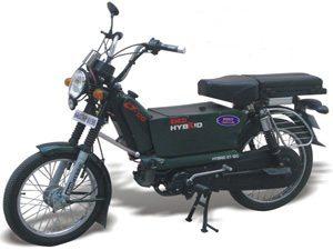 Primeira moto híbrida do mundo é feita na India