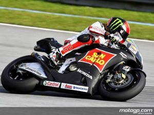 Foto: Primeiro Teste de MotoGP de 2011 termina com Simoncelli no topo