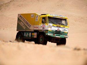 Problema mecânico tira caminhão da Petrobras Lubrax da classificação