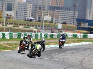Foto: Ruan Burdino, piloto da categoria 600 Hornet (Honda) no Racing Festival