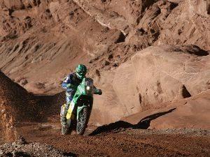 Foto: Jean Azevedo, que pilota a moto da Equipe Petrobras Lubrax