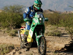 Rally Dakar 2011: Moto da Equipe Petrobras Lubrax enfrenta dura etapa
