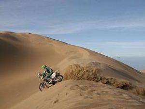 Foto: Vicente De Benedictis, piloto brasileiro no Rally Dakar 2011