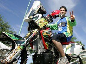 Foto: Vicente De Benedictis representa o Brasil no Rally Dakar 2011