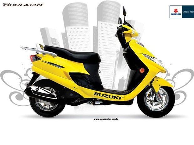 Reclamação Suzuki - Recall AN 125 Burgman