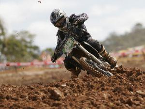 Foto: Cesar Araujo/Divulgação Pro Tork - Nico Rocha venceu na MX3 em Canelinha