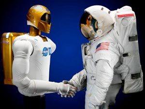 Robôs astronautas