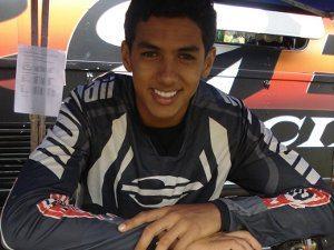 Foto: Rodrigo Lama venceu na sua estreia no Brasileiro de Motocross Júnior