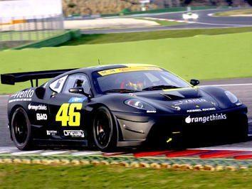Rossi brilha no Ferrari 430 em Vallelunga