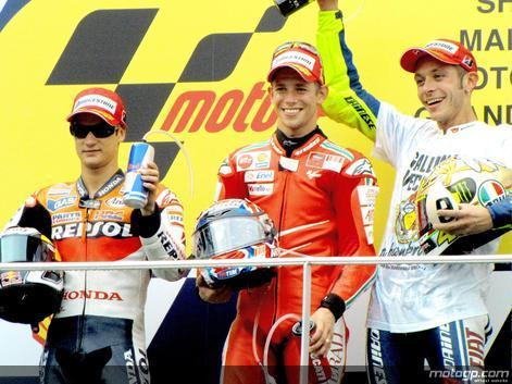 Foto: Valentino Rossi, 2009 MotoGP World Champion