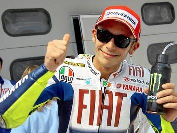 Rossi muito contente com grande pole em Sepang