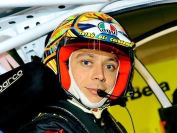 Rossi termina experiência nas quatro rodas
