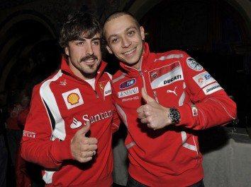 Foto: Rossi vai ser apresentado nas cores da Ducati no Wrooom 2011