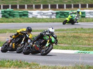 Foto: Maico Teixeira, piloto da categoria 600 Hornet (Honda) no Racing Festival