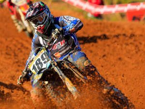 Foto: Idário Araújo/Y. Sports - O ingles Adam Chatfield se destaca na MX2