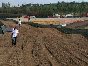 Foto: Pista do Motocross das Nações 2009 no autódromo de Franciacorta -Daniel Bonara-, na Itália