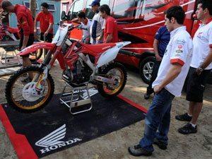 Foto: Wellington Garcia, piloto do Team Honda, representa o Brasil na categoria MX1 do Motocross das Nações 2009