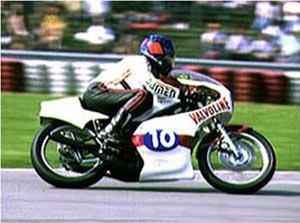 Em 1973, a vitória de Adu Celso no GP Espanha 350 cc